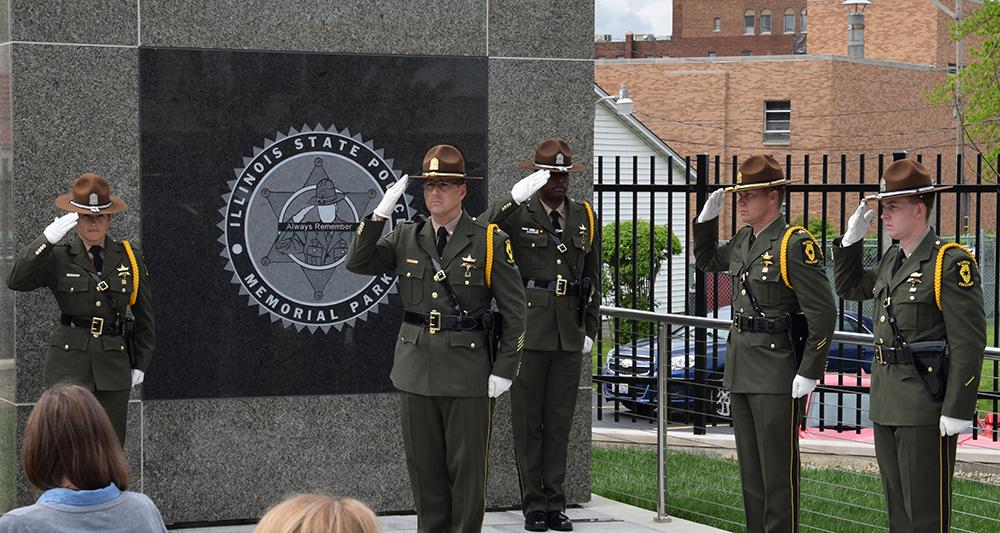 Trooper Lambert Ceremony